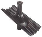 Вентиляционная труба Ондулин Д110 мм с колпаком и проходным элементом