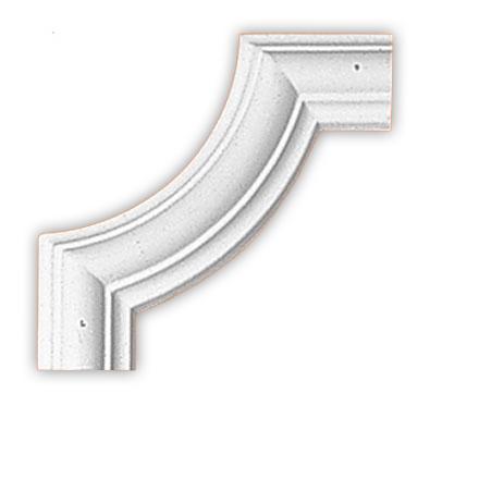 Угол декоративный Decomaster 97010-8 (размер 190х190х18)