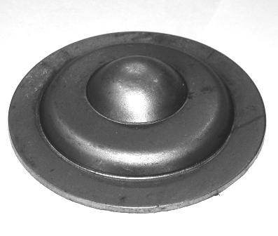 Заглушка D-75 Арт. 3076 для проф трубы размер D=75х2