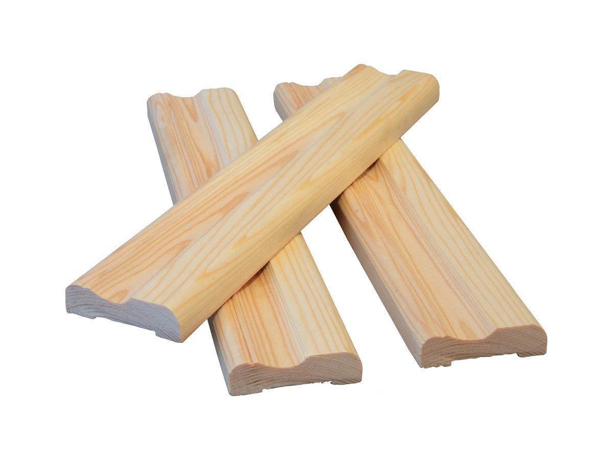 Наличник деревянный 60 фигурный (за 1 м.п.)