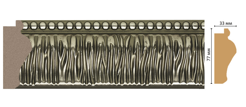 Багет Decomaster 527-725 (размер 77х33х2900)