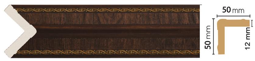 Уголок Decomaster 142-1 (размер 50х50х2400)