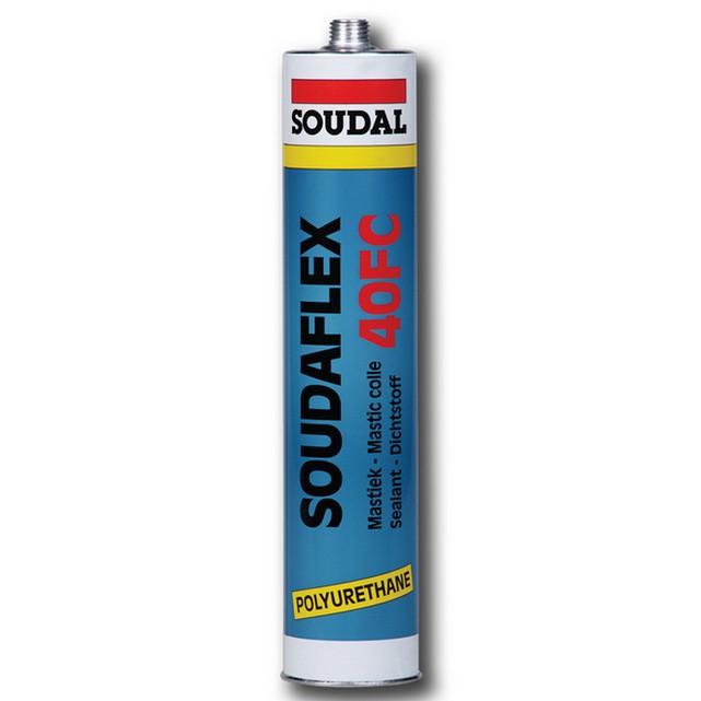 Герметик полиуретановый Soudal Soudaflex 40 FC черный 310 мл от Stroyshopper
