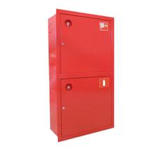 Шкаф пожарный ШПК-320-12ВЗК встраиваемый закрытый красный