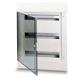 Бокс внутренний ABB 54 модуля серый 12068 (матовая дверка)
