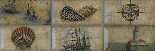 Плитка Aparici Paris Nautilus Decor B 4/011/6