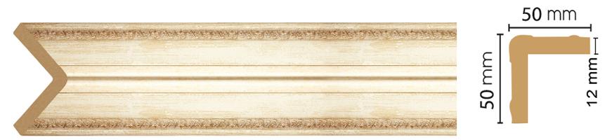 Уголок Decomaster 142-281 (размер 50х50х2400)