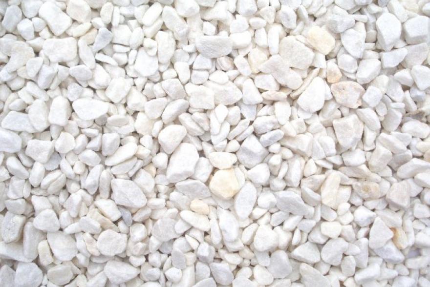 Мраморная крошка, 25кг фр. 5-10 мм (белая)