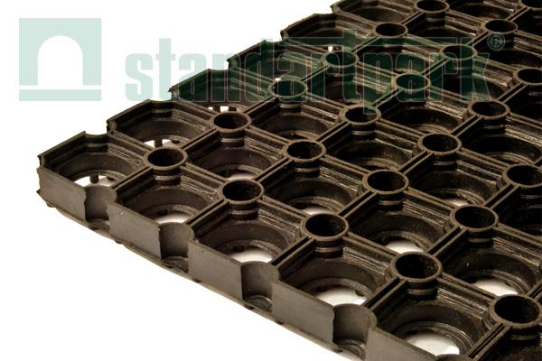 Резиновый коврик Компос, 1000х1500х18 мм