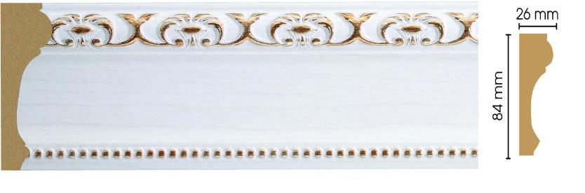 Молдинг Decomaster 147-118 (размер 84х26х2400)