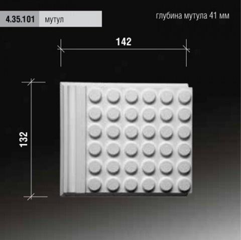 4.35.101 Европласт, декоративный элемент