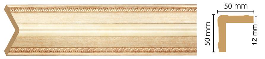 Уголок Decomaster 142-933 (размер 50х50х2400)
