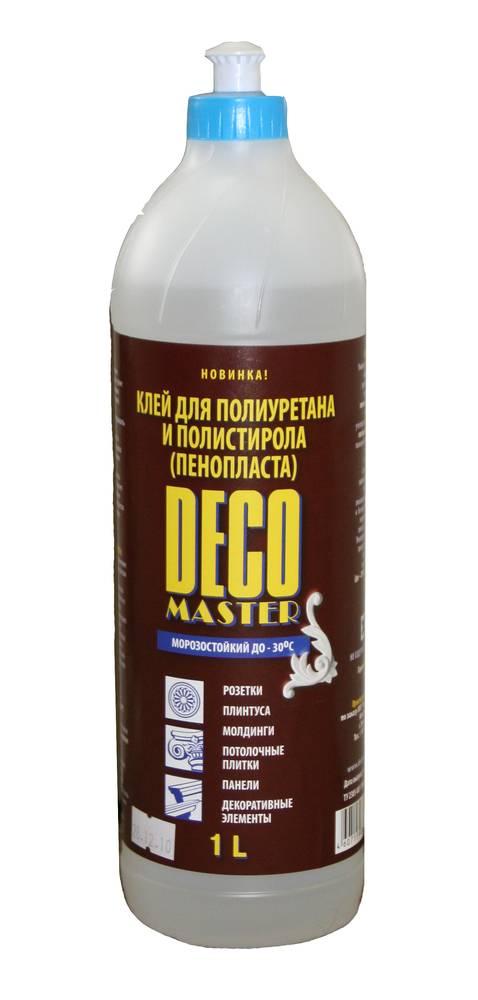 Клей полимерный универсальный DECOMASTER 1,00 л /-40°C/