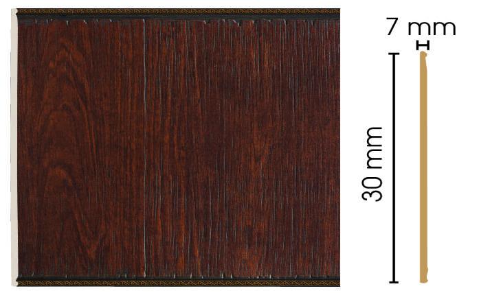Цветная панель Decomaster С30-2 (300х7х2400)