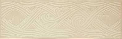Бордюр Gracia Ceramica Этна белый 330х108х8