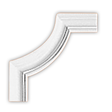 Угол декоративный Decomaster 97012-3 (размер 110х110х12)