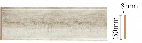 Декоративная панель Decomaster B15-937 (150х9х2400мм)