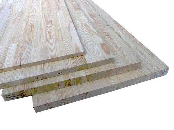 Мебельный щит сосна, размер 0.6х3м, толщ. 40мм