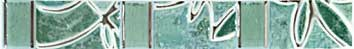 Бордюр Шахтинская плитка Пьетра бирюзовый 20х2,8 от Stroyshopper