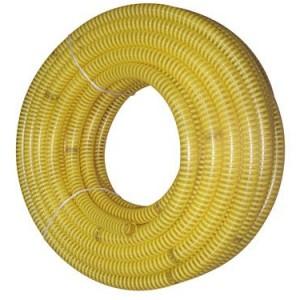 Подробнее о Шланг спиральный всасывающий 1 1/4 (50м) желтый шланг пневматический спиральный