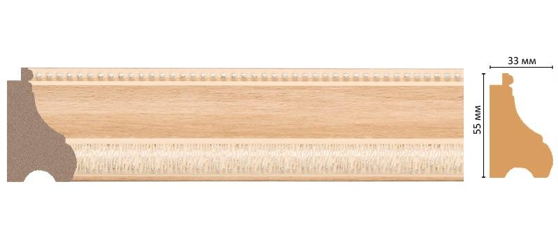 Багет Decomaster 198-11 (размер 55х33х2900)
