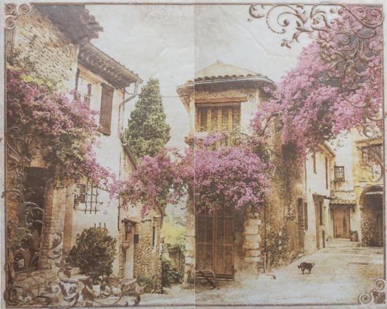 Панно Gracia Ceramica Palermo бежевый 02 50х40