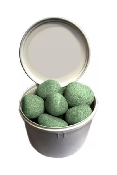 Камни для печей - жадеит шлифованный, 20 кг