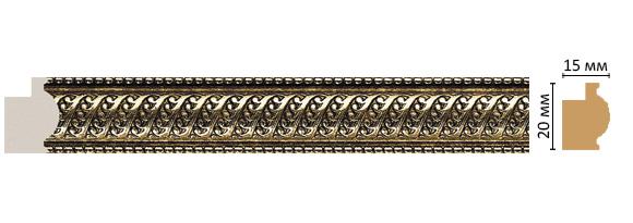 Багет Decomaster 583-28 (размер 20х15х2900)