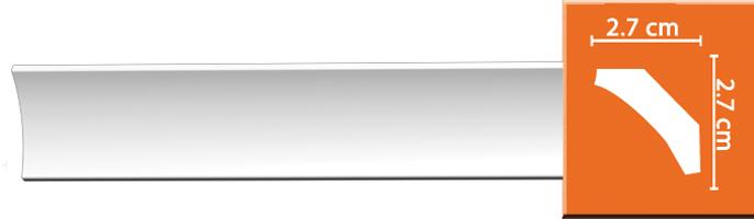 Потолочный профиль гладкий 96008