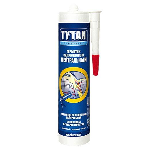 Герметик силиконовый Tytan Euro-Line нейтральный белый