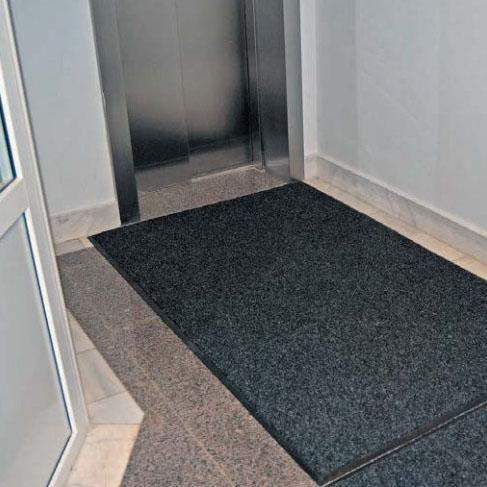 Ворсовое покрытие Каскад, 0,64х1 м (черный) от Stroyshopper