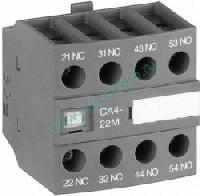 ABB CA4-22E Блок контактный дополнительный (2НО+2НЗ) для контакторов AF09…AF38 (1SBN010140R1022)