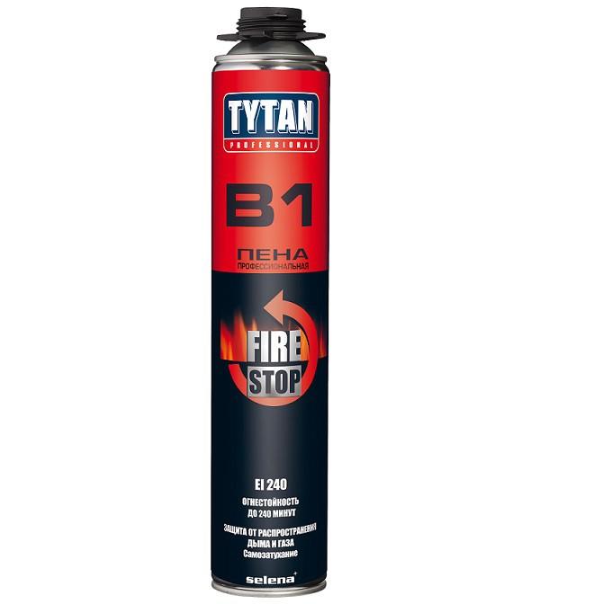 Пена профессиональная Tytan Professional В1 огнеупорная 750 мл