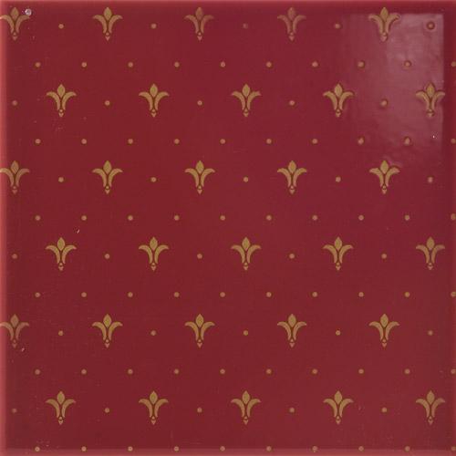 Плитка Aparici Poeme Burdeos Ornato 411271-16