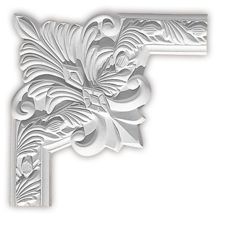 Угол декоративный Decomaster 98102-3 (размер 260х260х22)