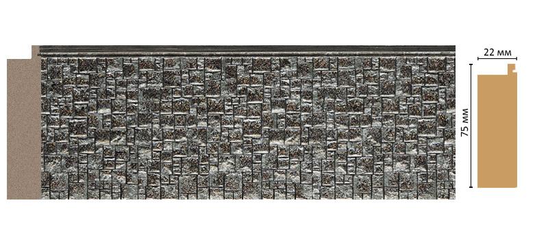 Багет Decomaster 582-27 (размер 75х18х2900)