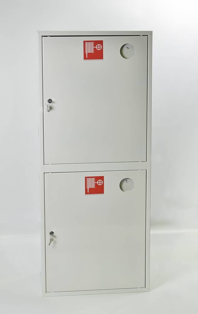 Шкаф пожарный Пульс ШПК-320-21НЗБ навесной закрытый белый