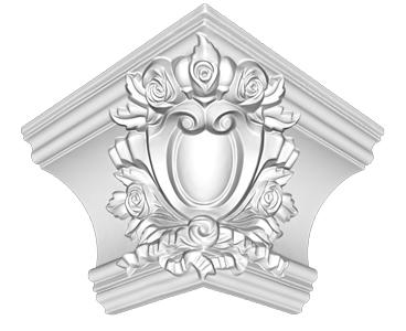 Угол декоративный Decomaster DP 217 E (размер 145х215х215)