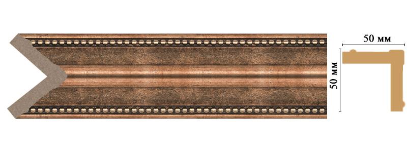 Цветной угол Decomaster 142-57 (размер 50х50х2400)