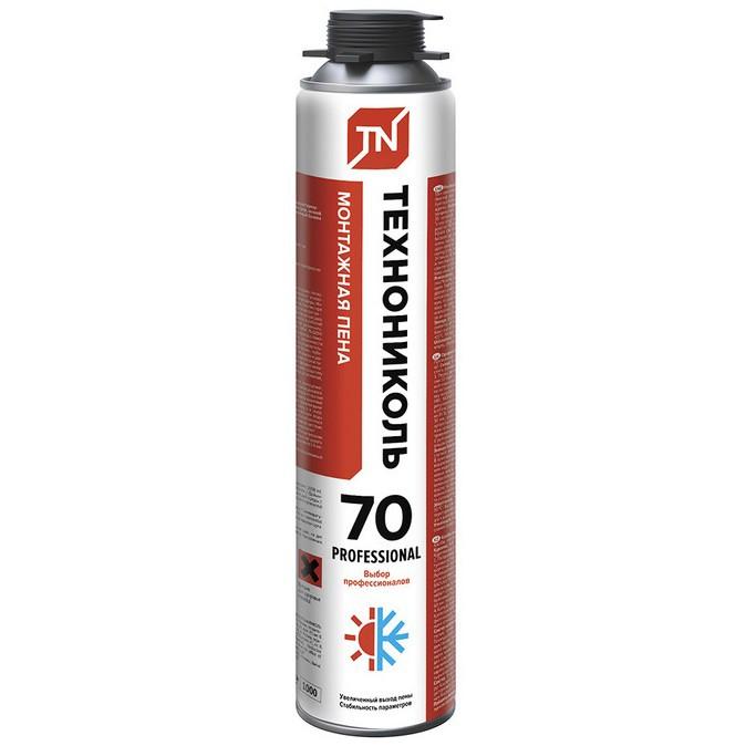 Пена монтажная профессиональная Технониколь 70 Professional всесезонная
