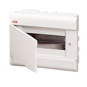 Бокс ABB в нишу 8м с дв. серый 12026