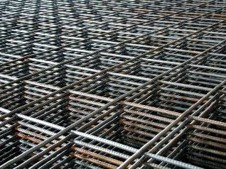 Сетка металлическая, ячейка 50х50мм, карта 0.5х2м (1м2), диам.4