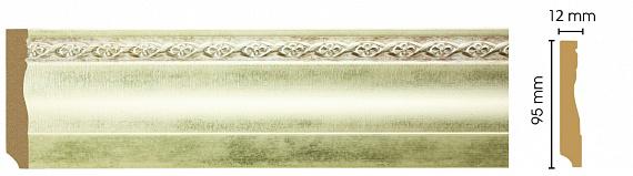 Плинтус напольный Decomaster 153-937 (размер 95х12х2400)
