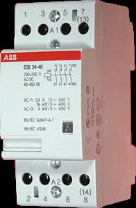 Контактор ABB esb 24-40 24 A