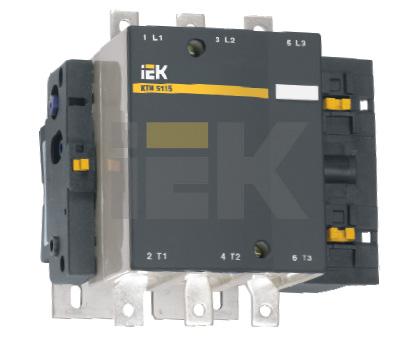 IEK Контактор КТИ-5115 115А 230В/АС3 (KKT50-115-230-10)  контактор пм12 025100 400в iek kkp 025 400 10 278185