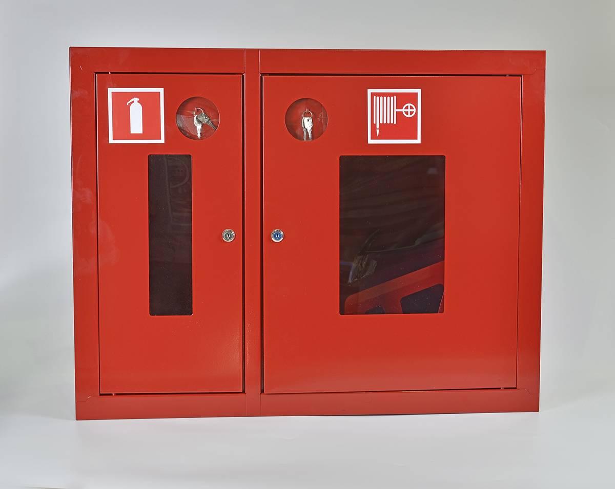 Шкаф пожарный Пульс ШПК-315ВОК встраиваемый открытый красный