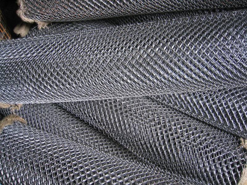 Сетка рабица оцинкованная (размер 1.5х10м) яч.50х50мм/D=1,2мм/(15м2)