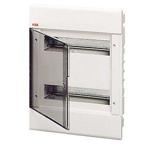 Бокс внутренний ABB 24 модуля серый 12064 (матовая дверка)