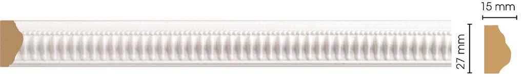 Молдинг Decomaster 128-115 (размер 27х15х2400)