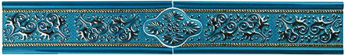 Плитка Colorker Vivenza Cenefa Splendore Sapphire (из 3-х частей) 2110103-552-198552